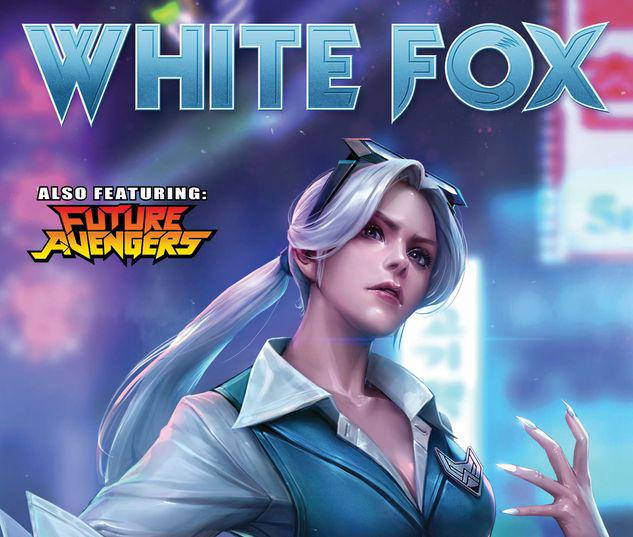 FUTURE FIGHT FIRSTS: WHITE FOX 1 YONGJOON CHO NETMARBLE VARIANT #1