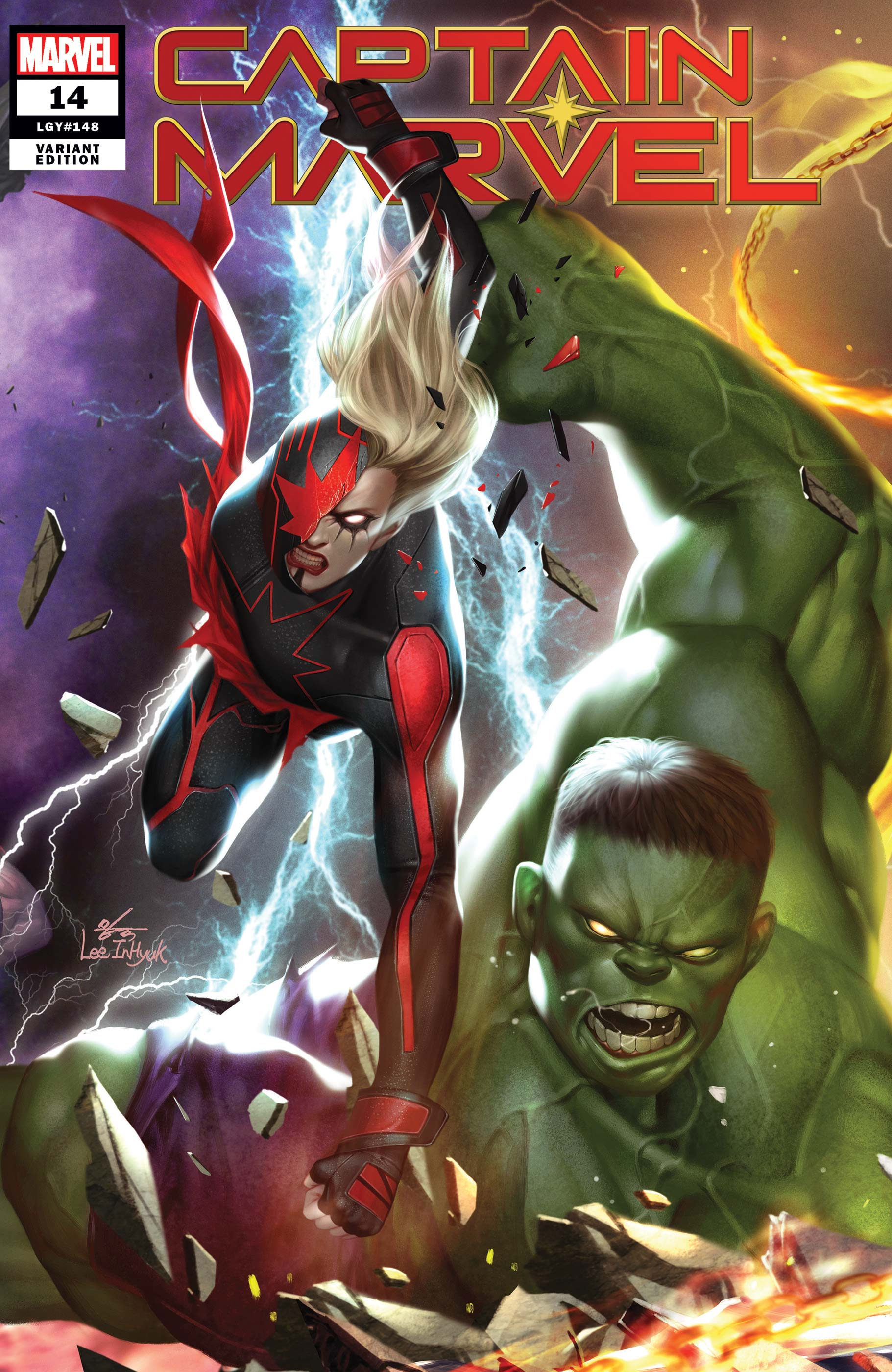 Captain Marvel (2019) #14 (Variant)
