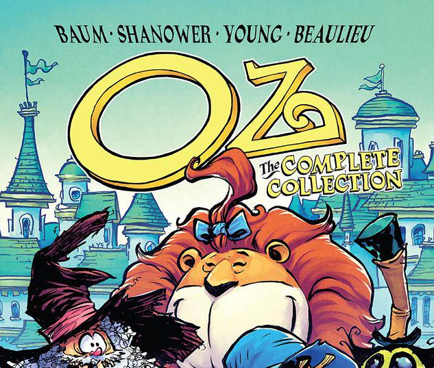 OZ: THE COMPLETE COLLECTION - ROAD TO/EMERALD CITY GN-TPB #3