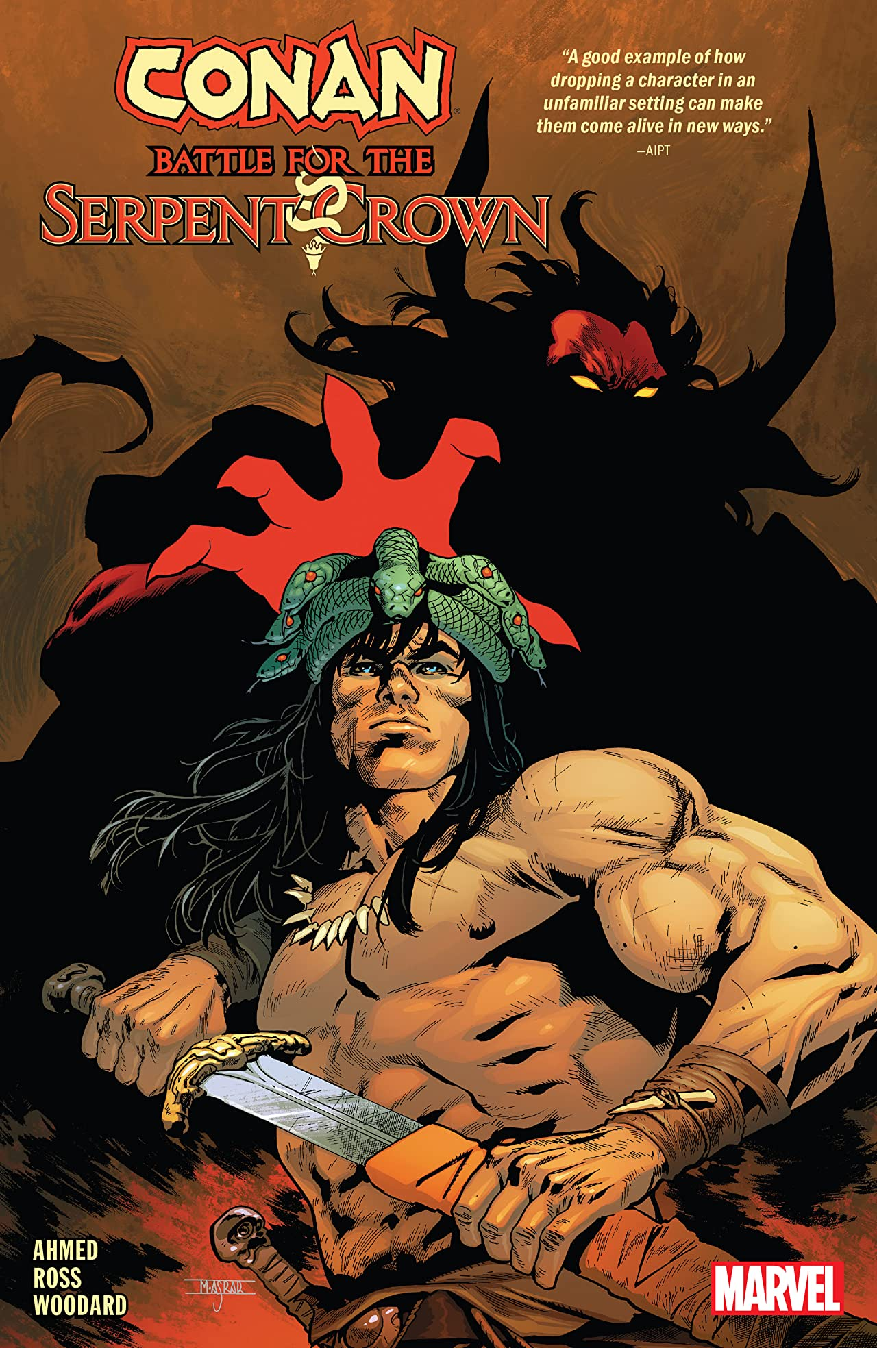 Conan: Battle For The Serpent Crown (Trade Paperback)