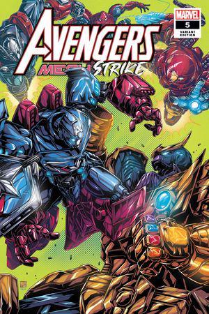 Avengers Mech Strike (2021) #5 (Variant)
