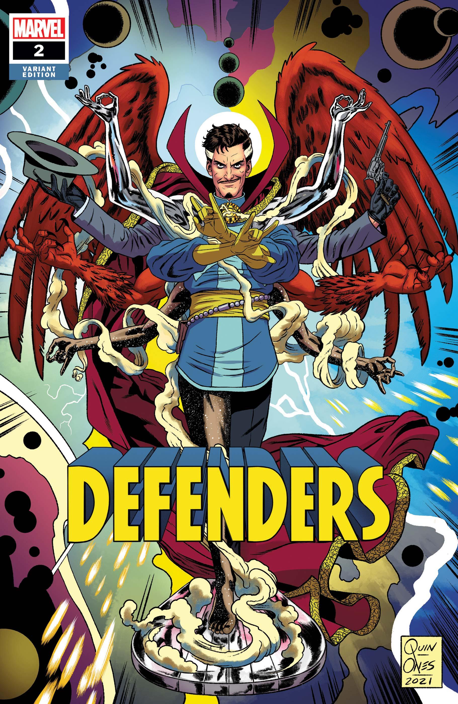 Defenders (2021) #2 (Variant)