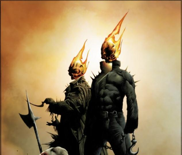 Ghost Riders: Heaven's On Fire #1 cover by Jae Lee