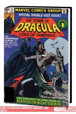 Tomb of Dracula Omnibus Vol. 2 Variant (DM Only) (Hardcover)