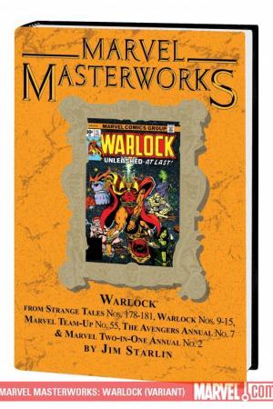 Marvel Masterworks: Warlock Vol. 2 (Variant) (Hardcover)