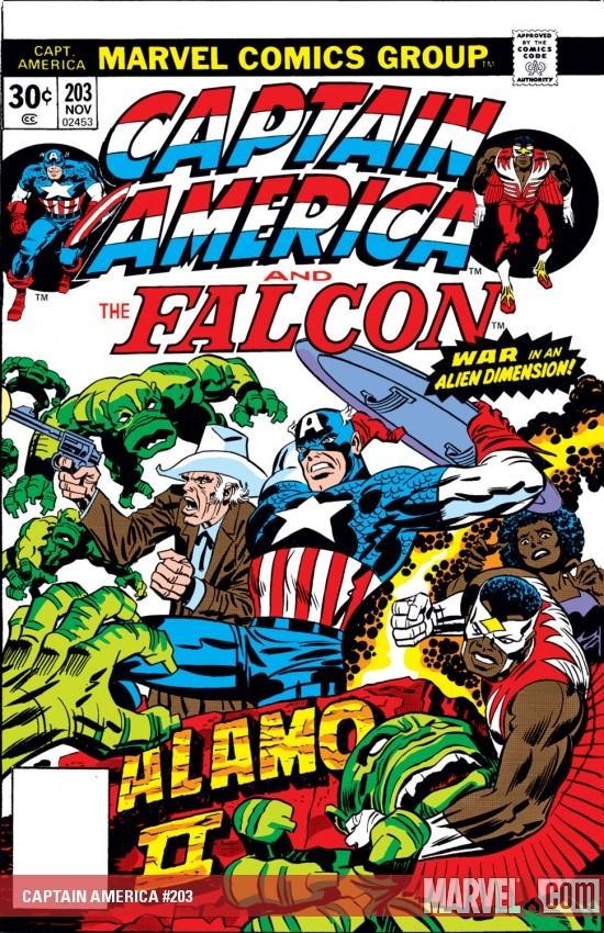 Captain America (1968) #203