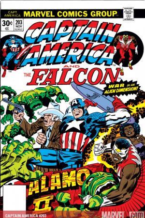 Captain America #203