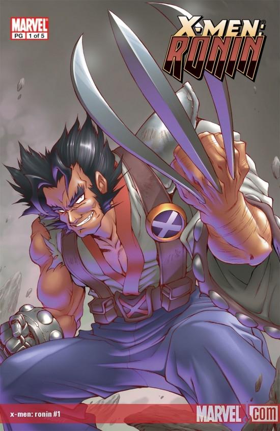 Marvel Mangaverse Vol. 4: X-Men - Ronin (Trade Paperback)