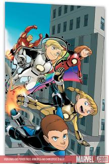 Iron Man and Power Pack: Armored and Dangerous (Digest)