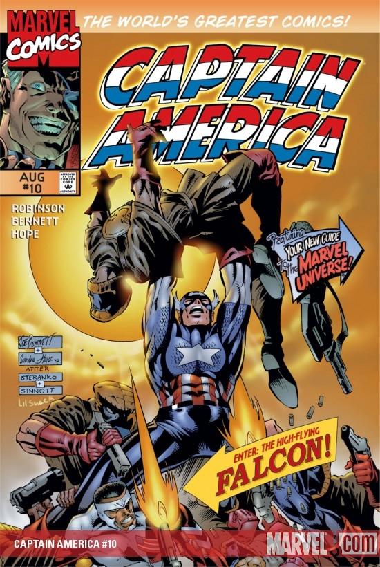 Captain America (1996) #10