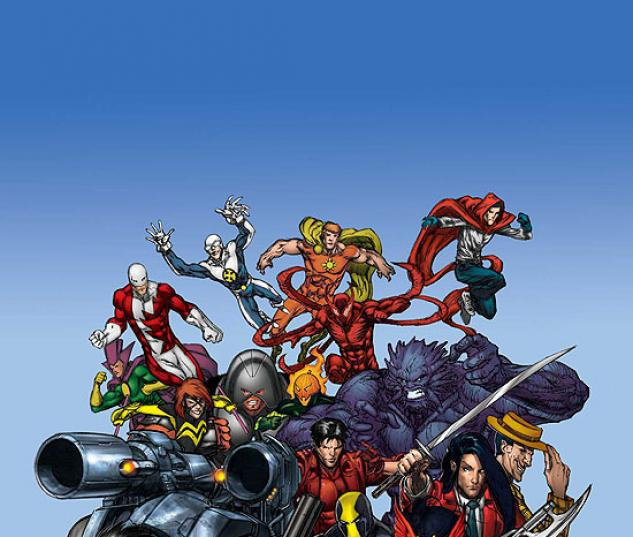 ALL-NEW OFFICIAL HANDBOOK OF THE MARVEL UNIVERSE A TO Z #5