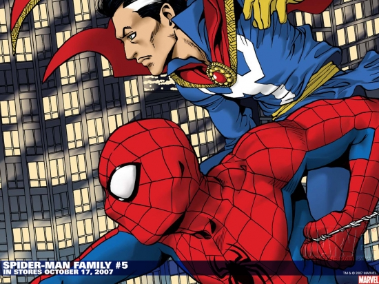 Spider-Man Family (2007) #5 Wallpaper