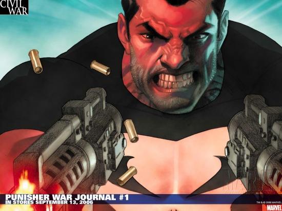 Punisher War Journal (1988) #1 Wallpaper