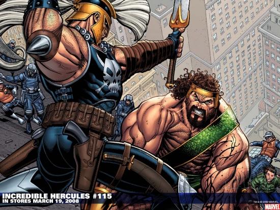 Incredible Hercules (2008) #115 Wallpaper