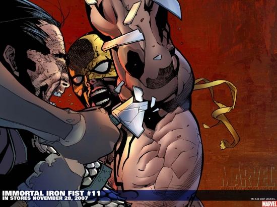 Immortal Iron Fist (2006) #11 Wallpaper