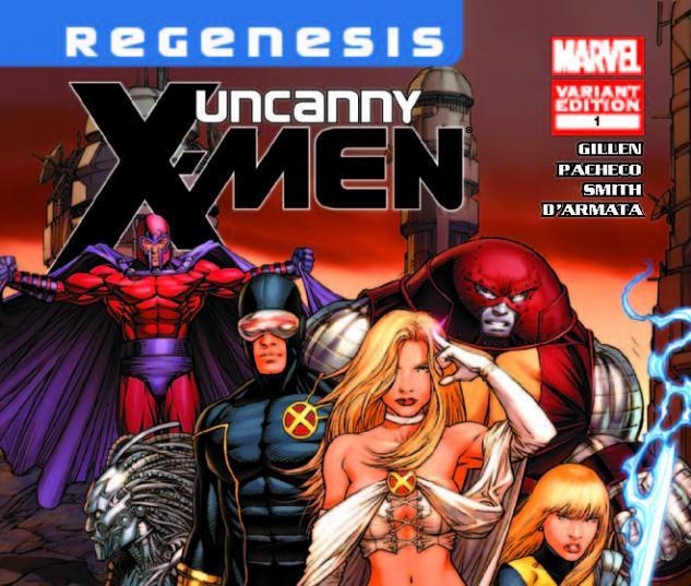 UNCANNY X-MEN 1 KEOWN VARIANT (XREGB)