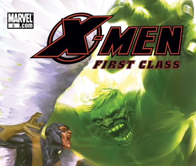 X-Men: First Class (2007) #5