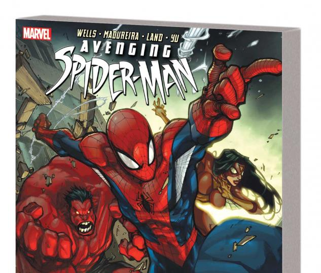 AVENGING SPIDER-MAN: MY FRIENDS CAN BEAT UP YOUR FRIENDS TPB
