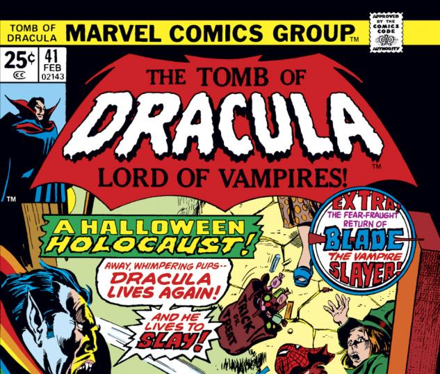 Tomb of Dracula (1972) #41 Cover