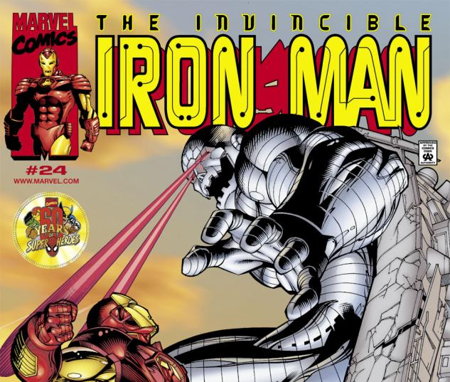 Iron Man (1998) #24 Cover
