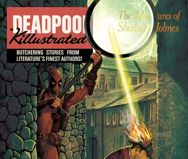 Deadpool: Classics Killustrated (2013) #4 Cover