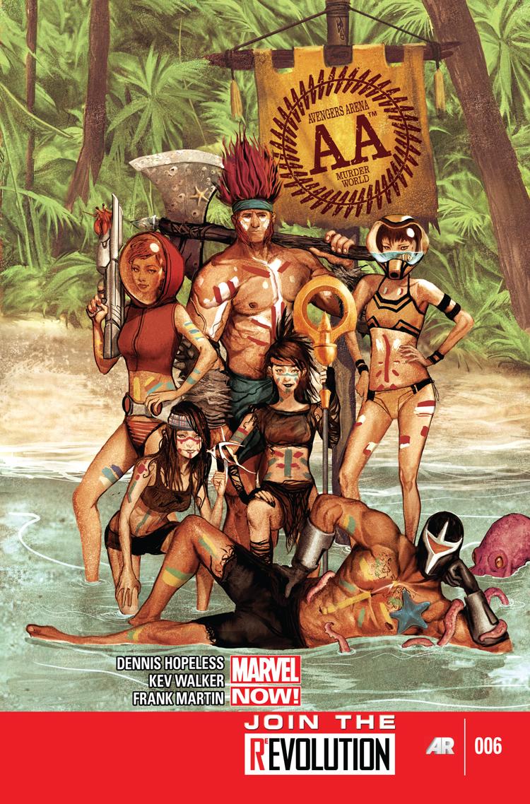Avengers Arena (2012) #6
