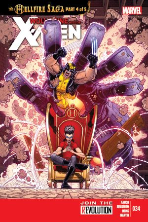 Wolverine & the X-Men #34