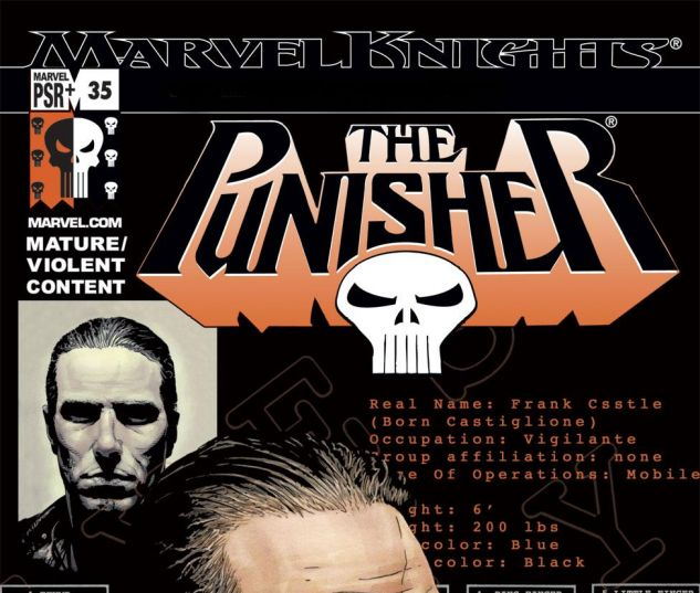 PUNISHER 35 cover