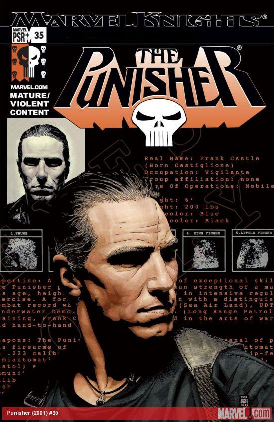 Punisher (2001) #35