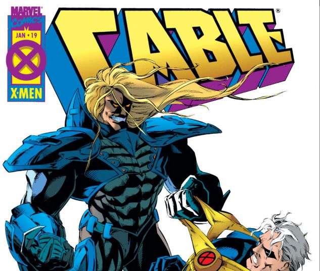 CABLE (1993) #19 Cover