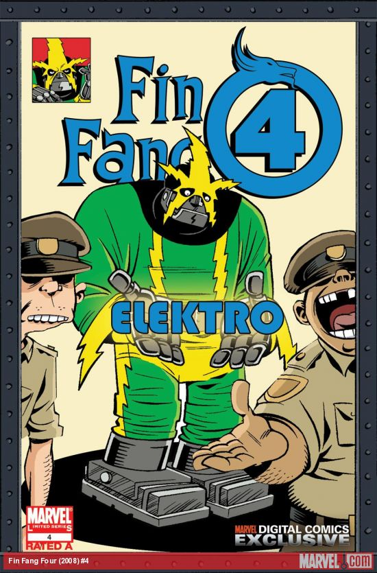 Fin Fang Four Digital Comic (2008) #4