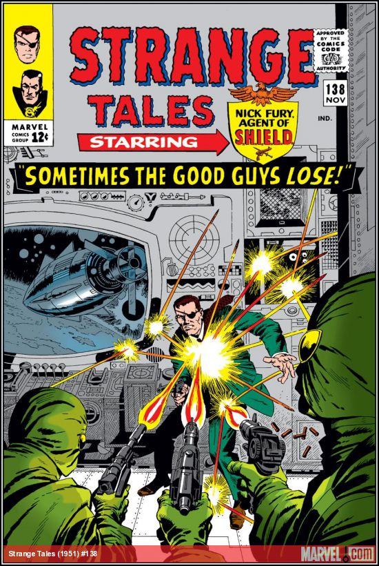 Strange Tales (1951) #138