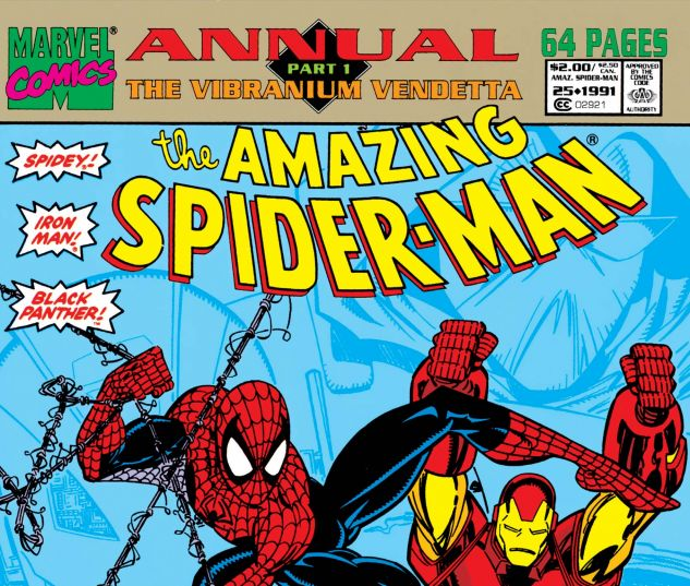AMAZING SPIDER-MAN ANNUAL (1964) #25