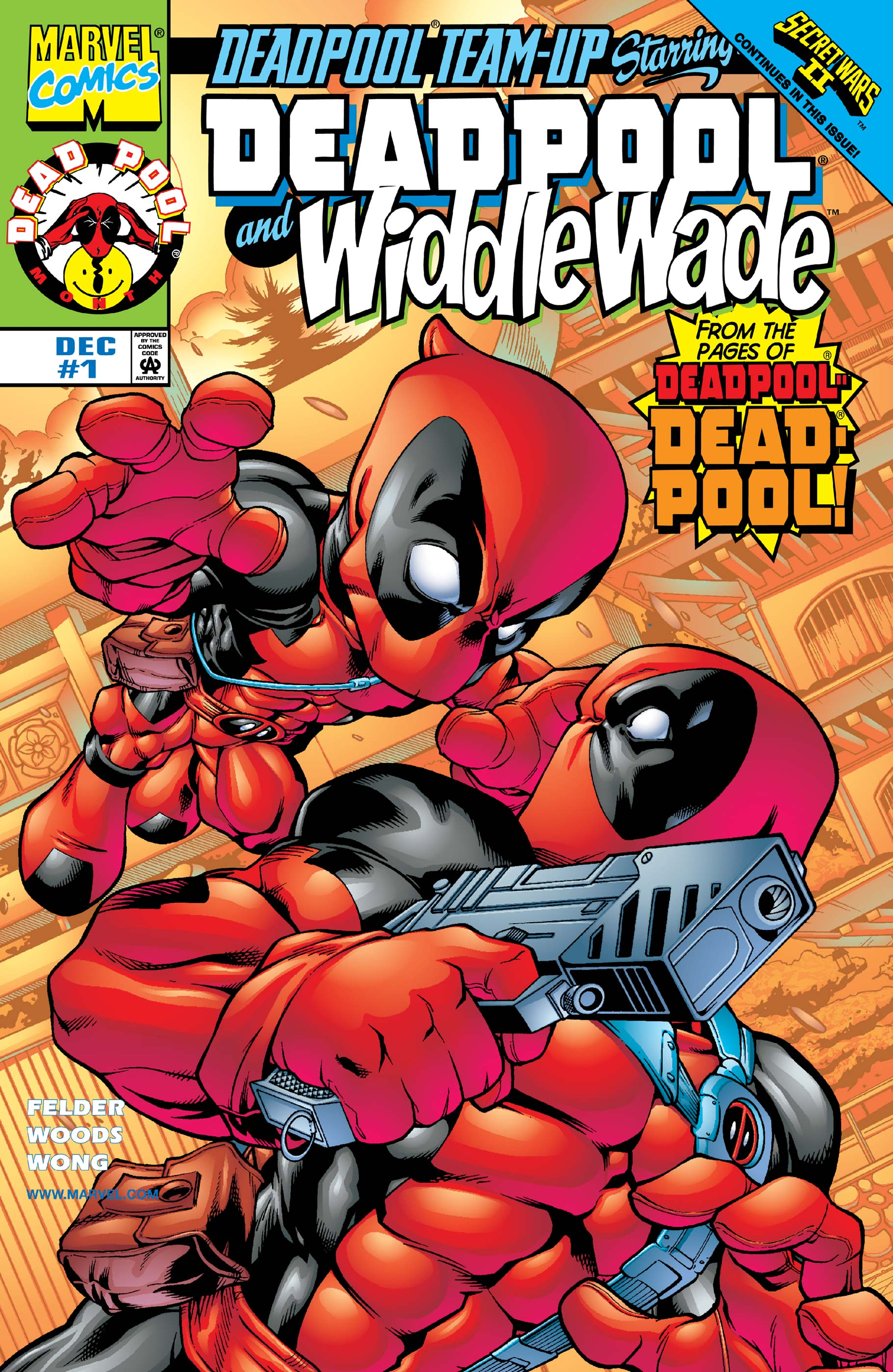 Deadpool Team-Up (1998) #1
