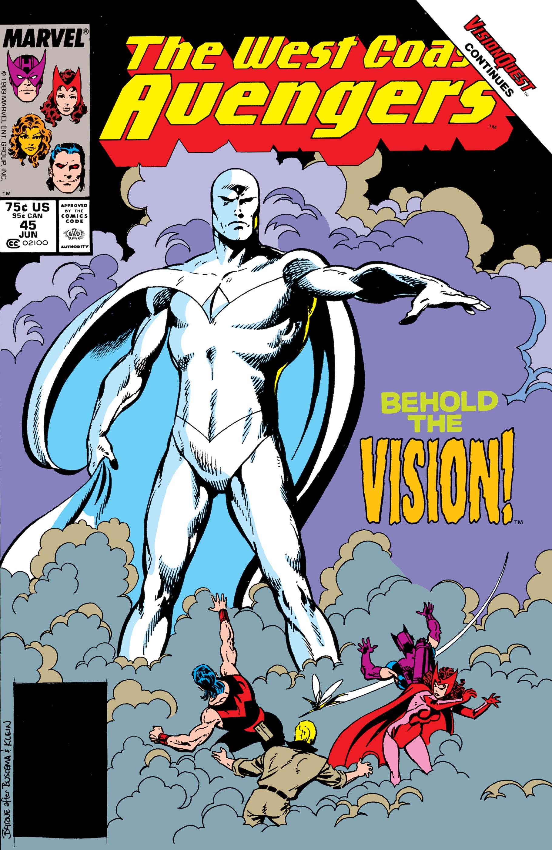 Avengers West Coast (1985) #45