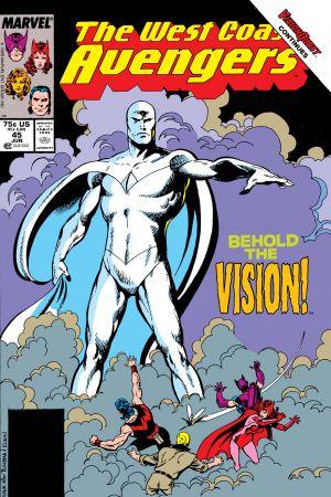 West Coast Avengers (1985) #45