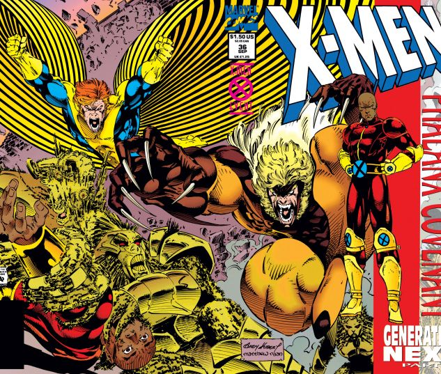 X-Men (1991) #36