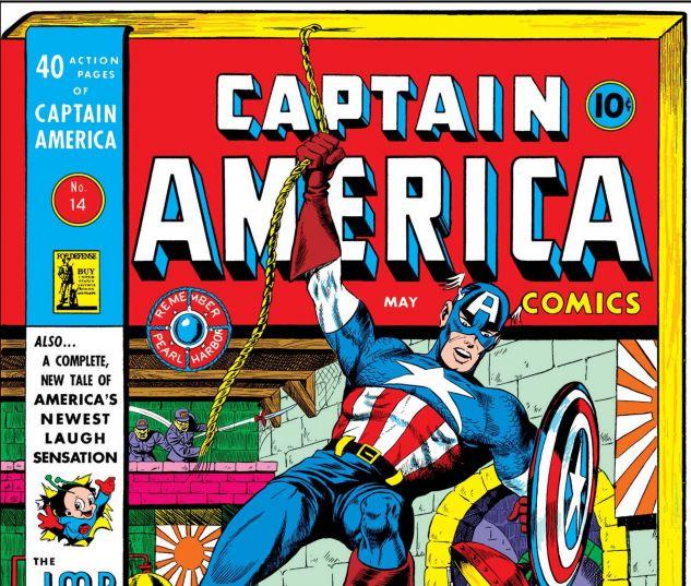 CAPTAIN AMERICA COMICS (1941) #14