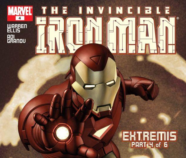 Iron Man (2004) #4