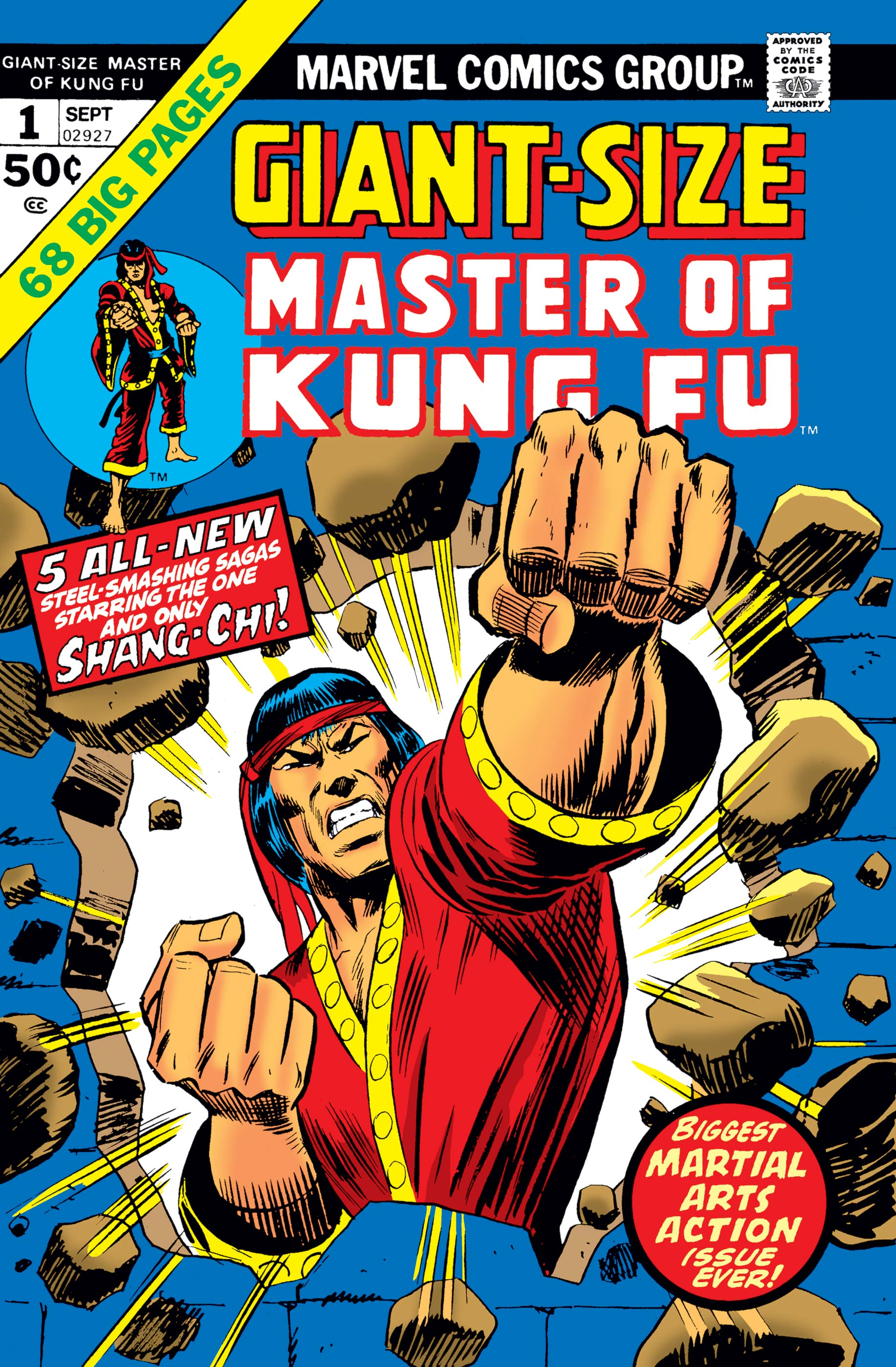 Giant-Size Master of Kung Fu (1974) #1