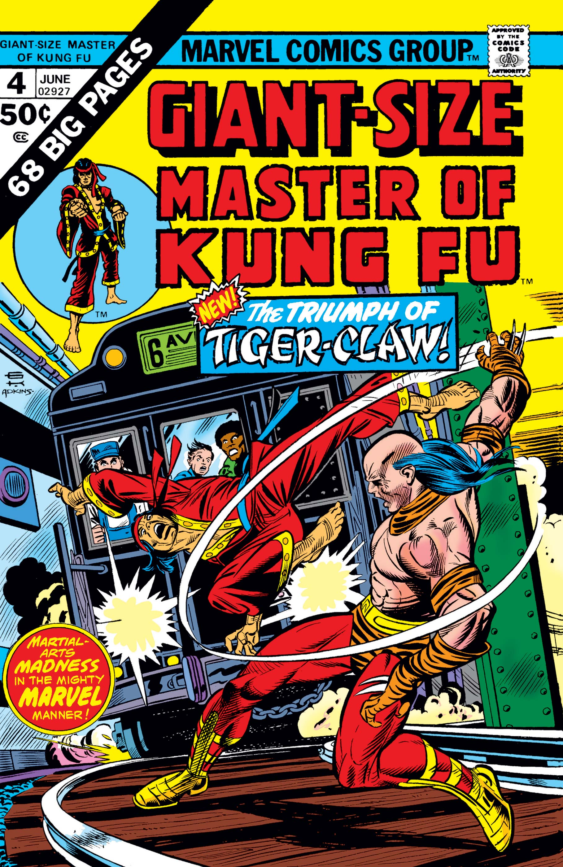 Giant-Size Master of Kung Fu (1974) #4