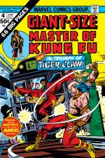 Giant-Size Master of Kung Fu (1974) #4 cover