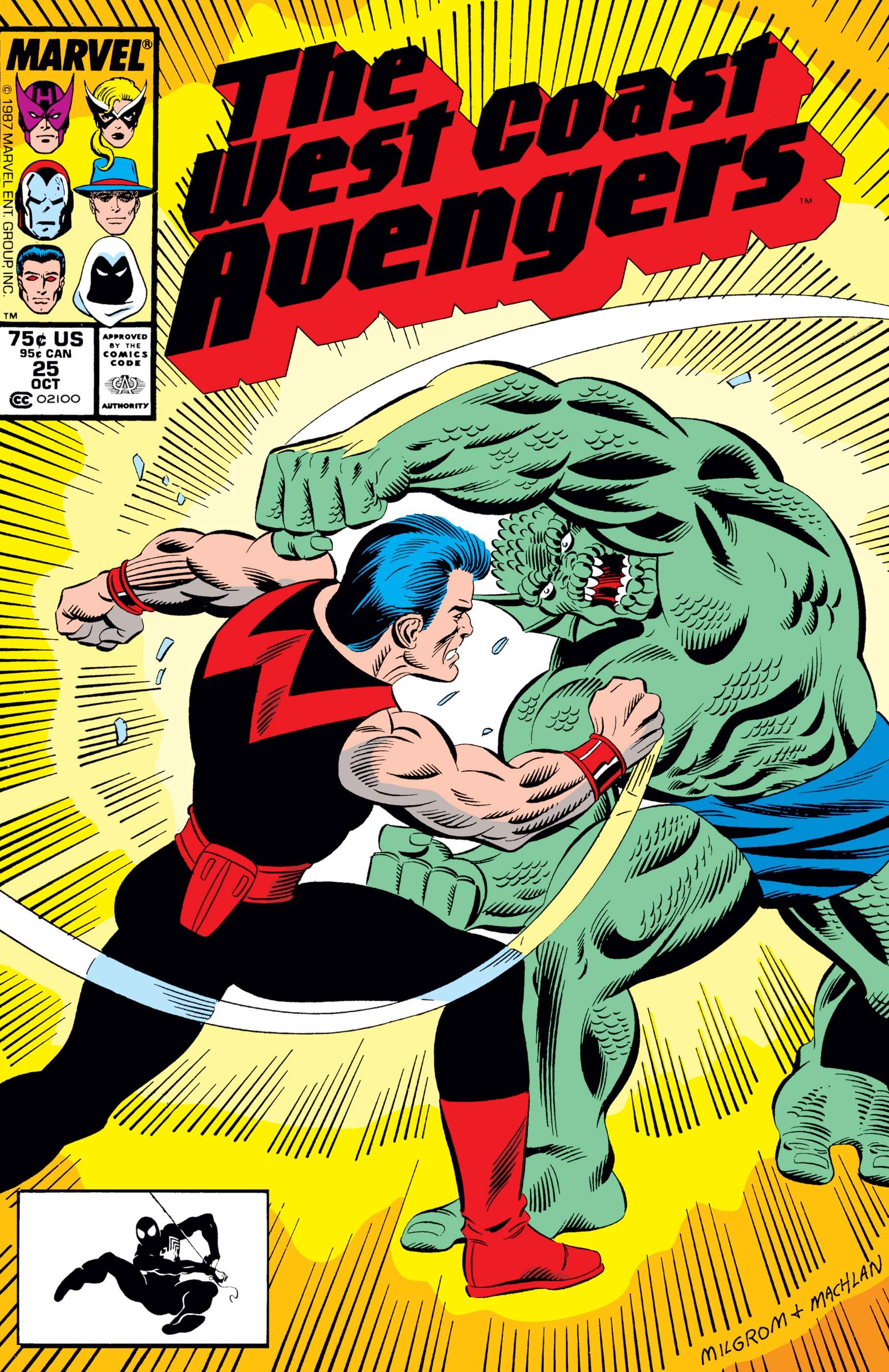 West Coast Avengers (1985) #25