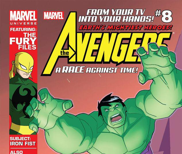 Marvel Universe AVENGERS: EARTH'S MIGHTIEST HEROES  #8