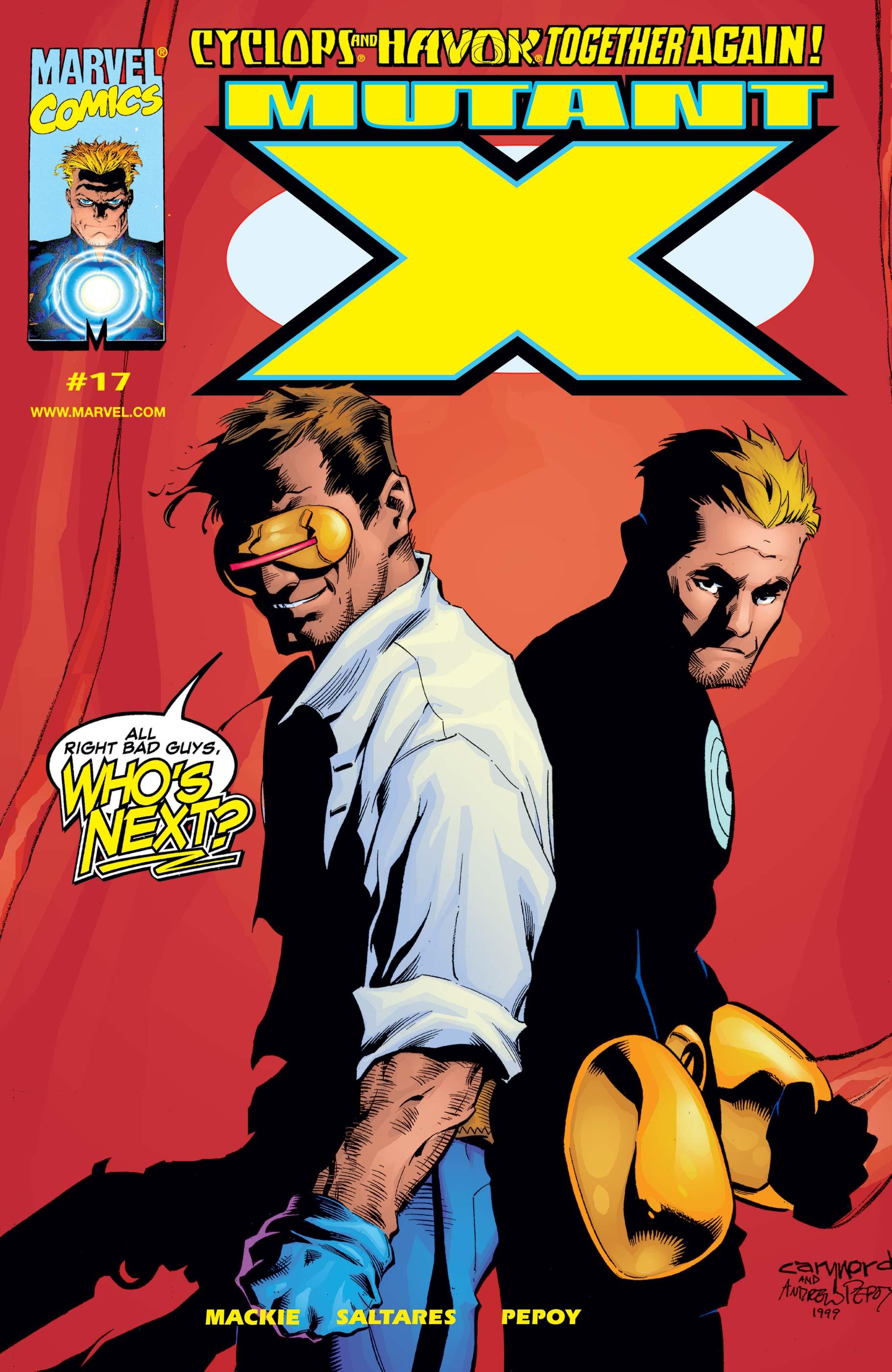 Mutant X (1998) #17