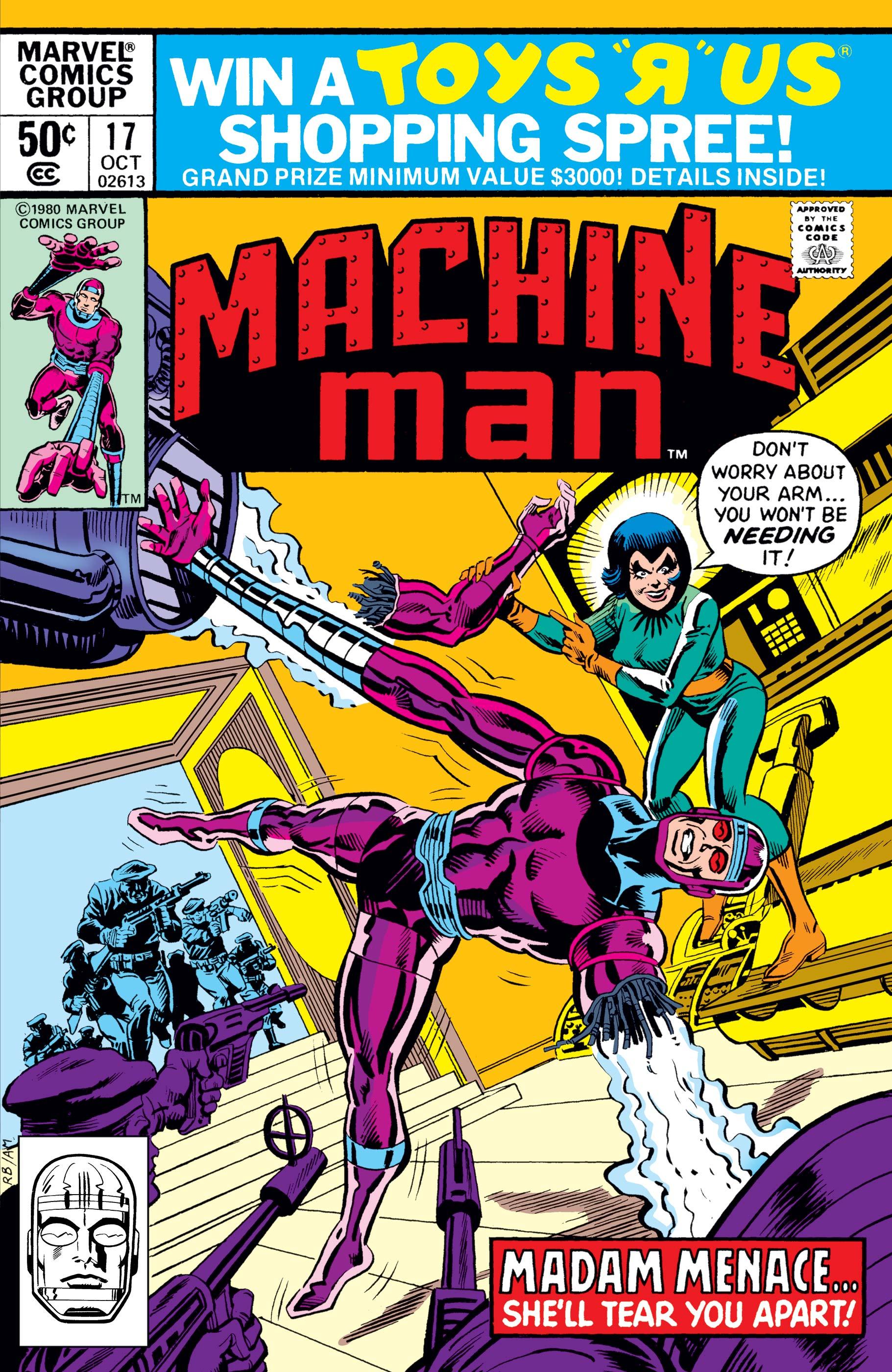 Machine Man (1978) #17