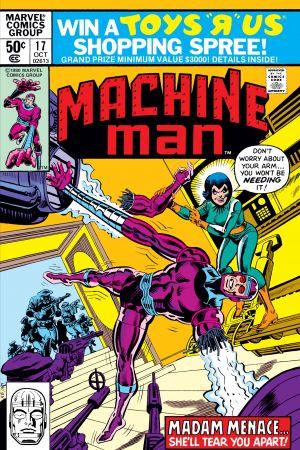 Machine Man #17
