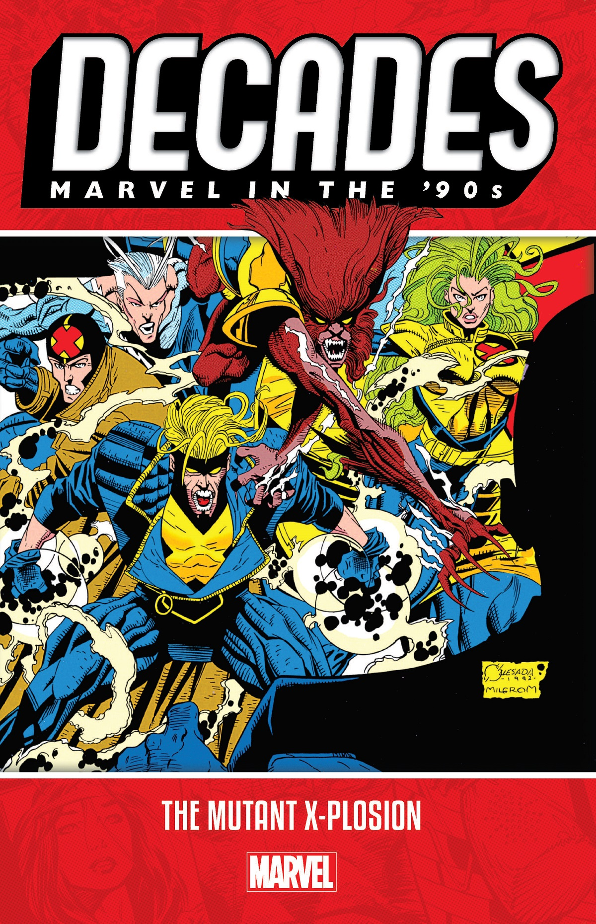 Decades: Marvel In The '90s - The Mutant X-plosion (Trade Paperback)