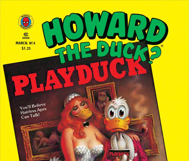 Howard the Duck Magazine #4