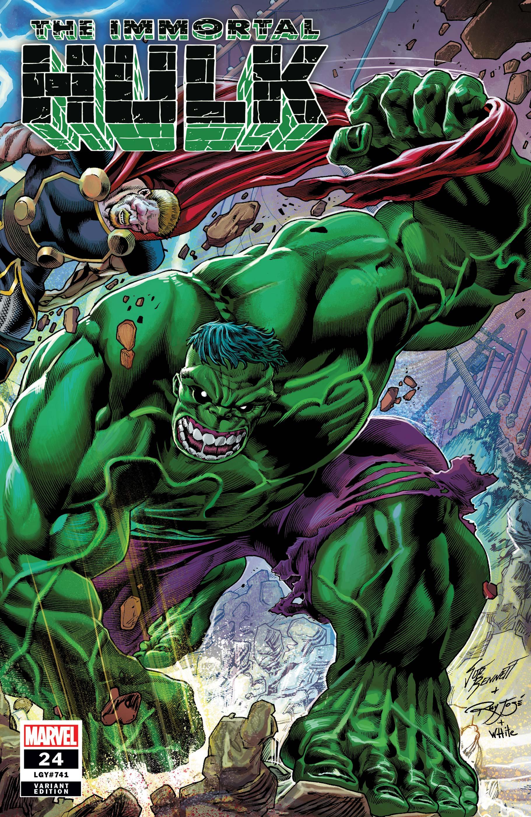 Immortal Hulk (2018) #24 (Variant)